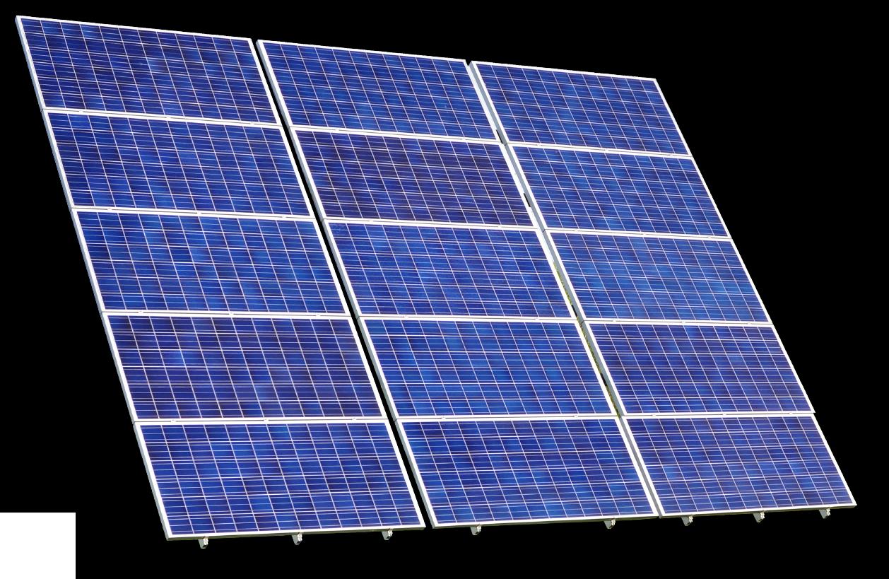 写真:太陽光パネル